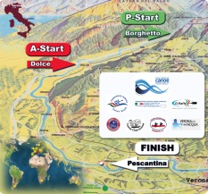 Adigemarathon-kenu maraton-térkép