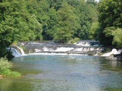 Vadvízi horgásztúra Szlovéniában a Krka folyón
